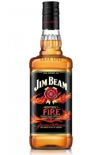 BOURBON JIM BEAM FIRE 1LT