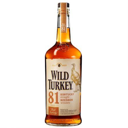 BOURBON WILD TURKEY 81 PROOF 1LT