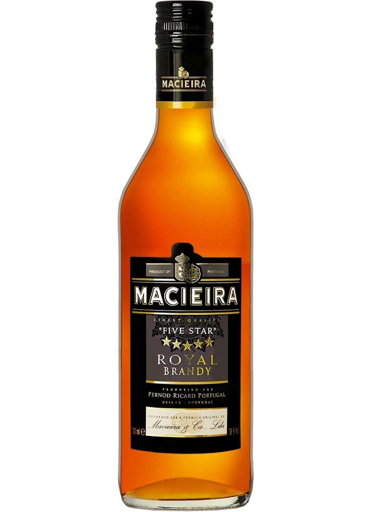 BRANDY MACIEIRA 700ML