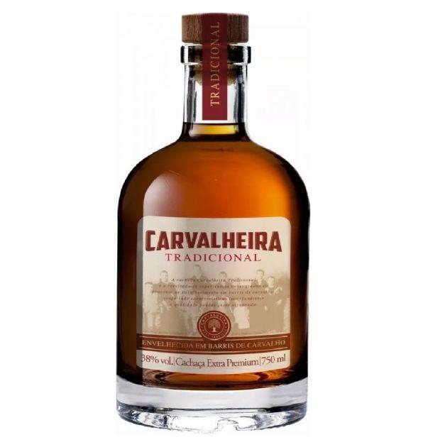 CACHAÇA CARVALHEIRA TRADICIONAL - 750 ML