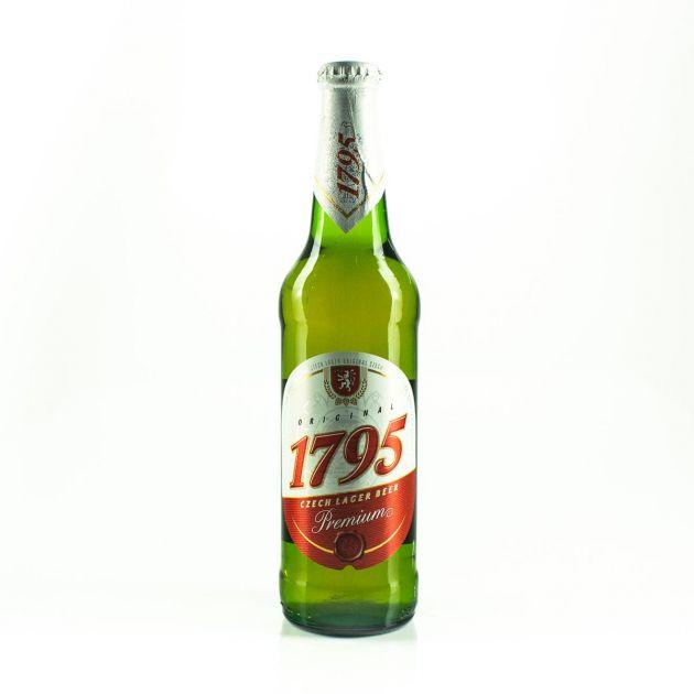 CERVEJA 1795 ORIGINAL CZECH LAGER - 500ML