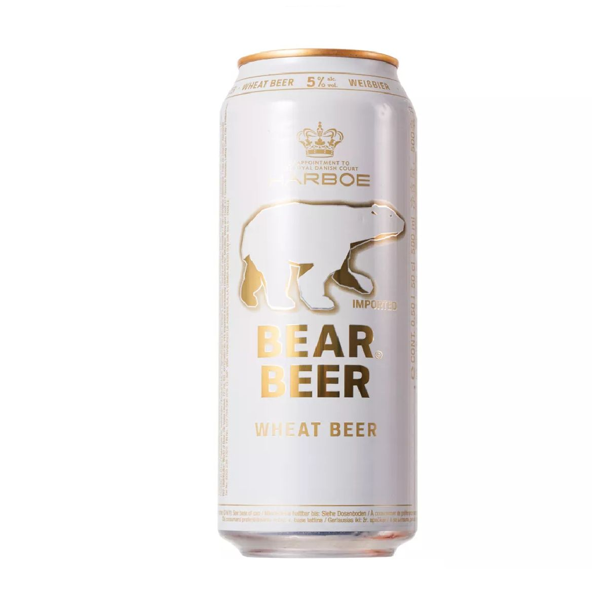 CERVEJA BEAR BEER WHEAT - 500 ML (LATA)