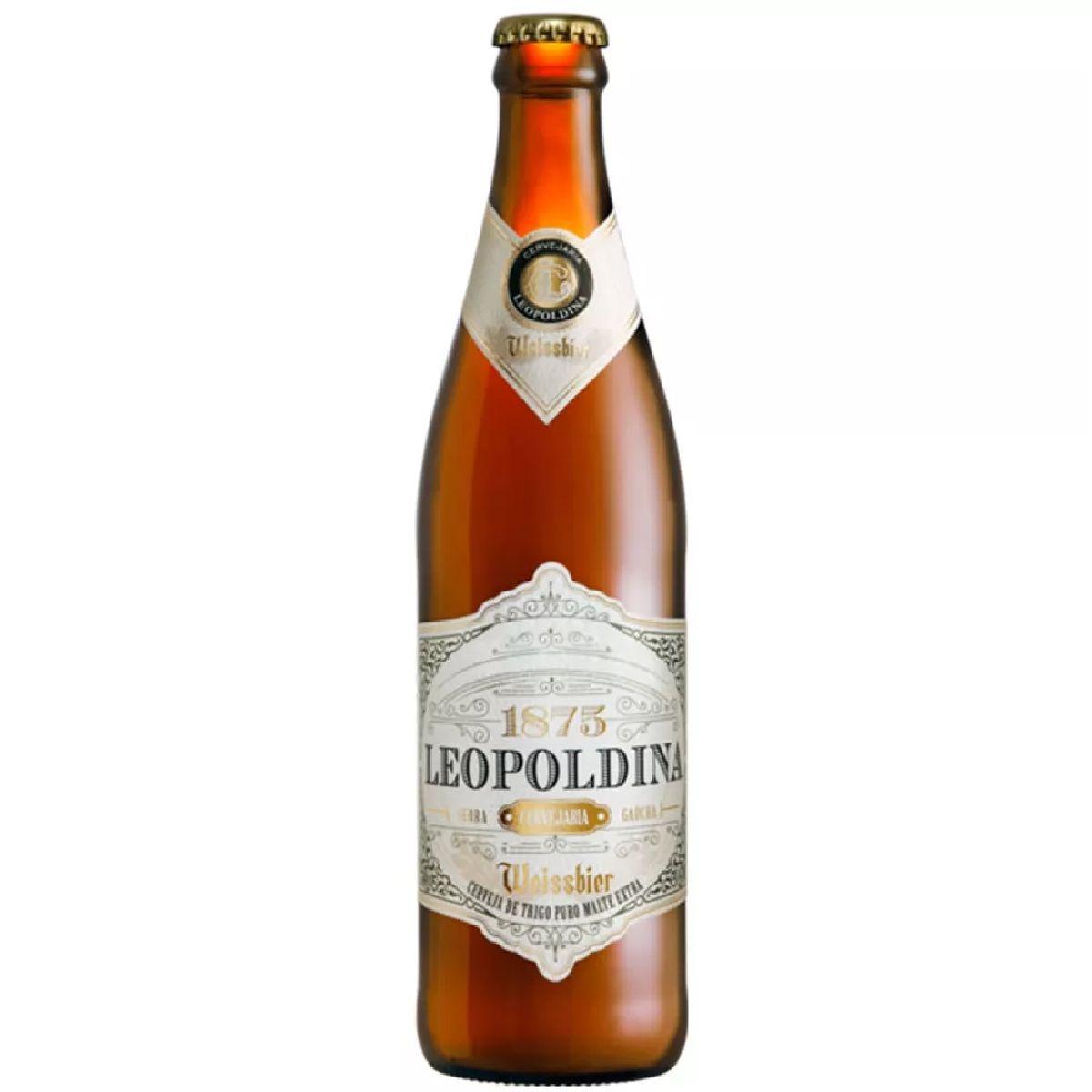 CERVEJA LEOPOLDINA WEISSBIER - 500 ml