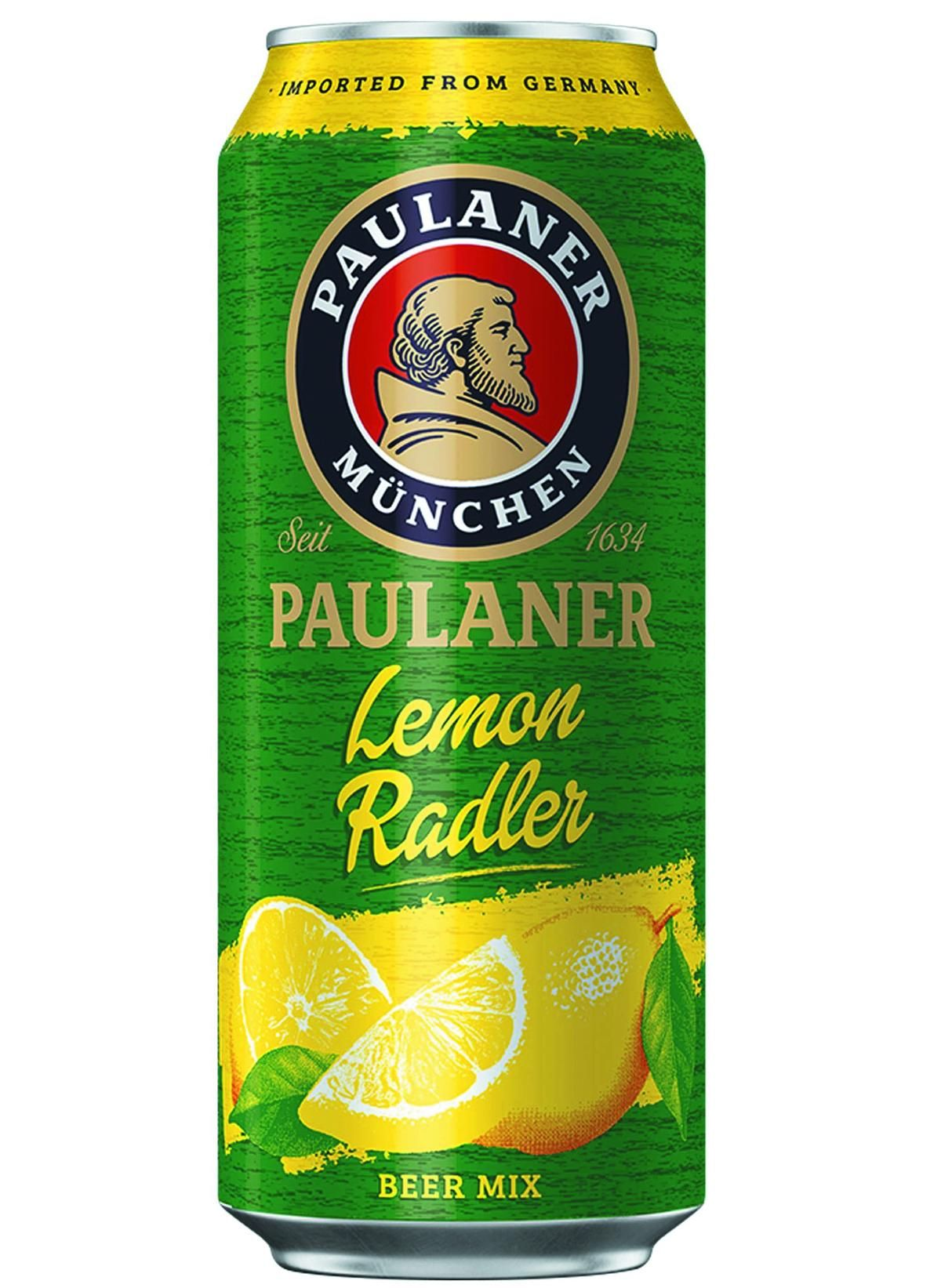 CERVEJA PAULANER LEMON RADLER LATA 500ML