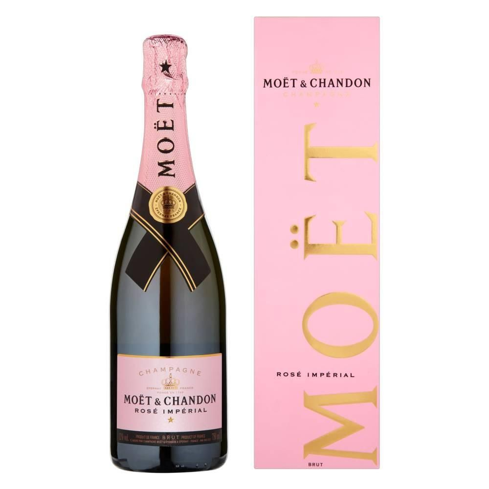 CHAMPAGNE MOET CHANDON ROSE LOVE 750 ML