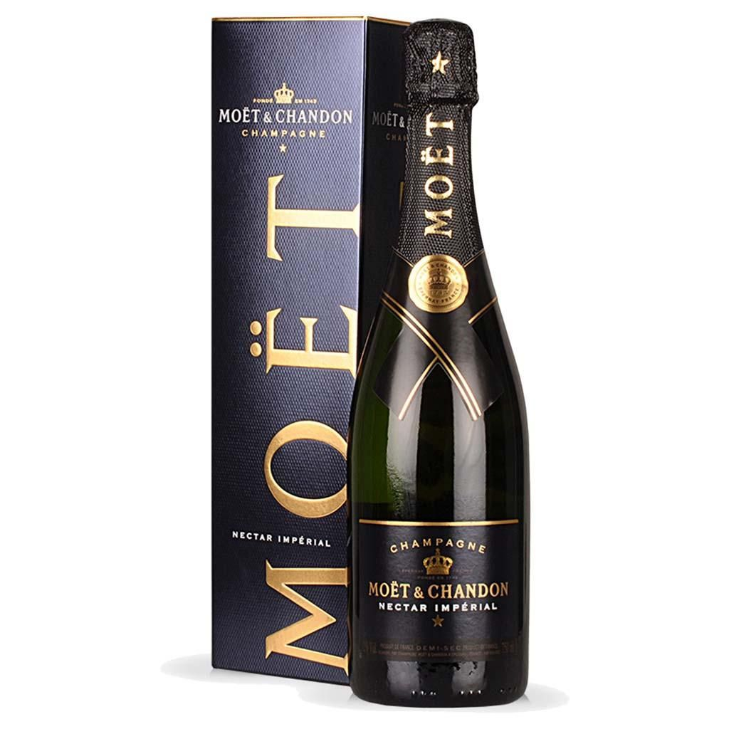 CHAMPAGNE MOET CHANDON NECTAR IMPERIAL 750 ML