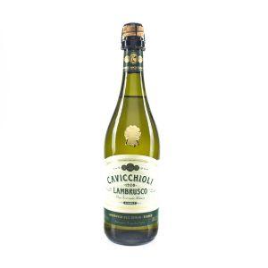 VINHO BRANCO ITALIANO LAMBRUSCO CAVICCHIOLI - 750ML
