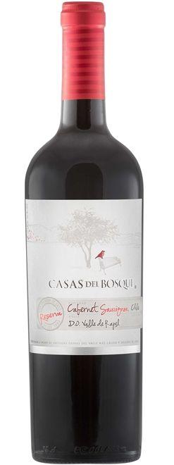 VINHO CASAS DEL BOSQUE RESERVA CABERNET SAUVIGNON 750ML