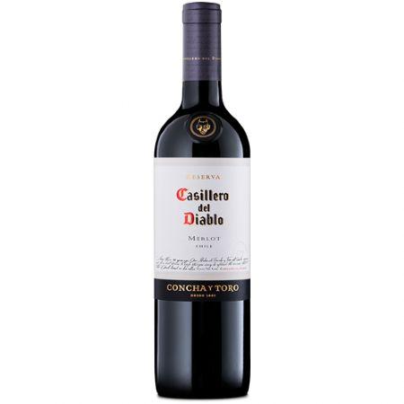 VINHO CASILLERO DIABLO MERLOT 750ML