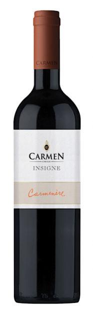 VINHO CARMEN INSIGNE CARMENERE 750ML