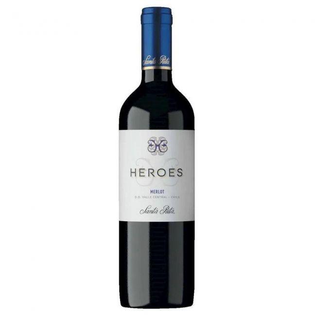 VINHO HEROES MERLOT 750 ML