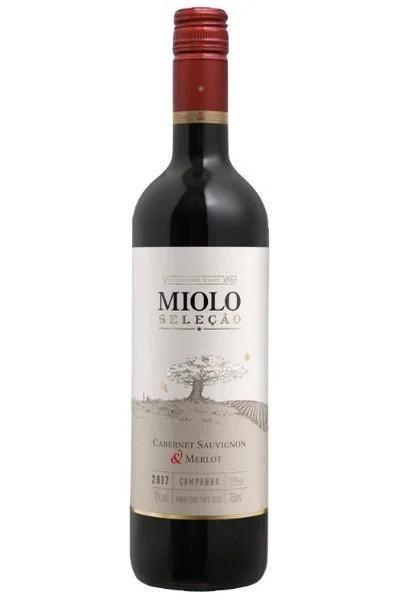 VINHO MIOLO SELECAO CABER/MERLOT 750ML