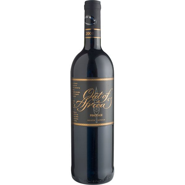 VINHO TINTO OUT OF AFRICA PINOTAGE 750ML