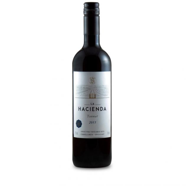 VINHO LA HACIENDA TAN MERL 750ML