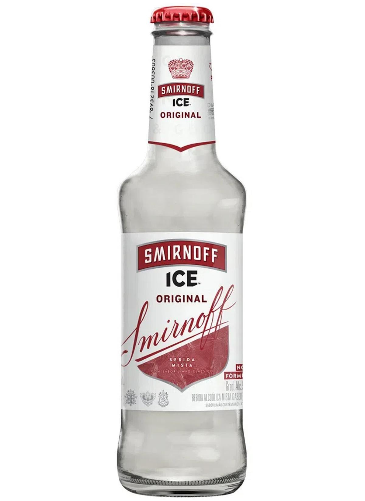 VODKA SMIRNOFF ICE LONG NECK 275ML