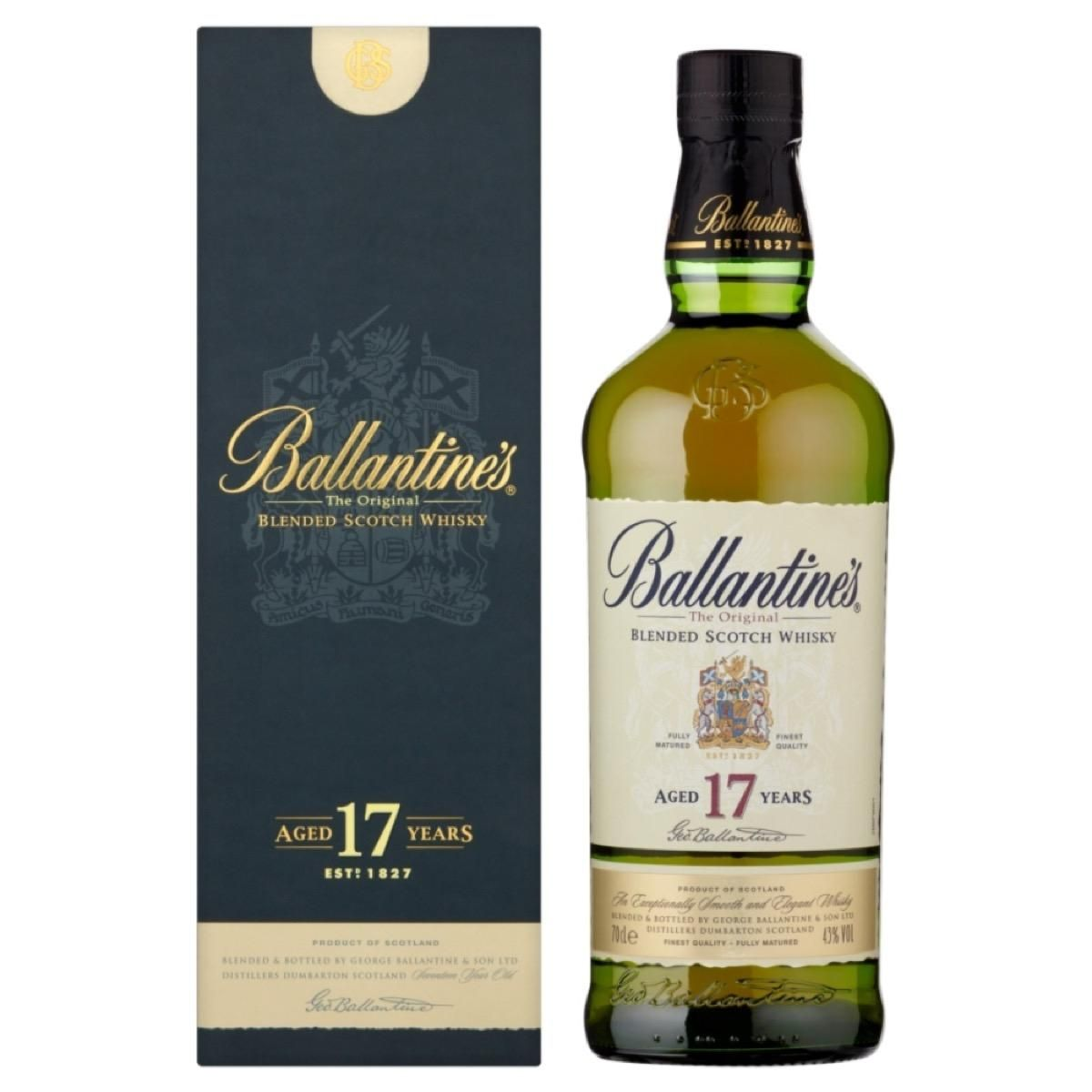 WHISKY BALLANTINES 17 ANOS 750ML