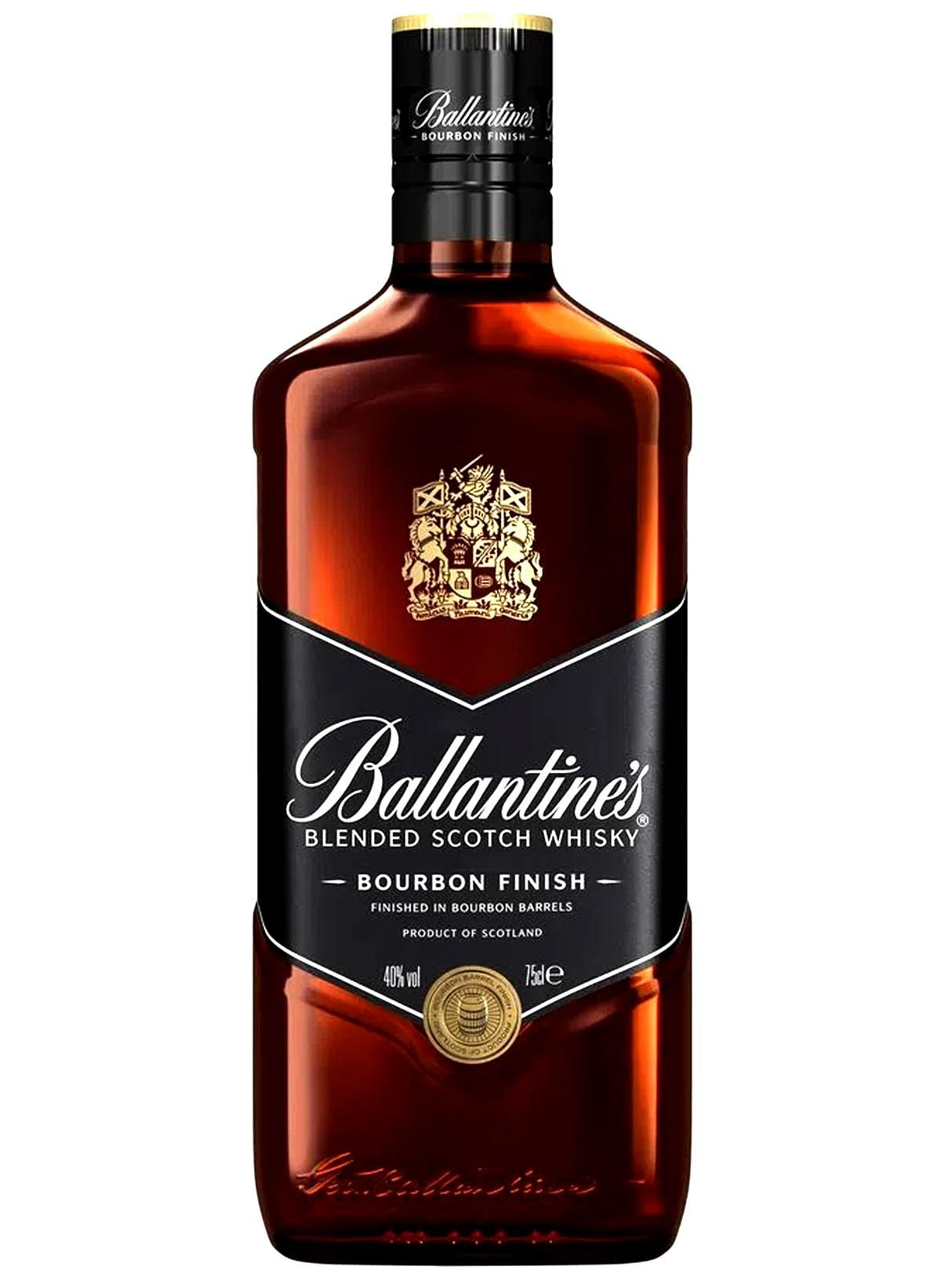 WHISKY BALLANTINES BOURBON FINISH 750ML