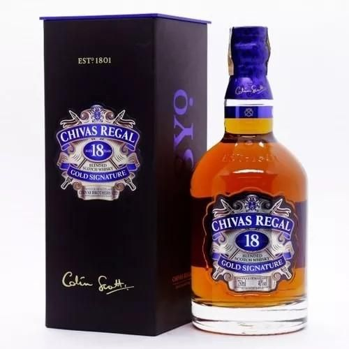 WHISKY CHIVAS REGAL 18 ANOS 750ML