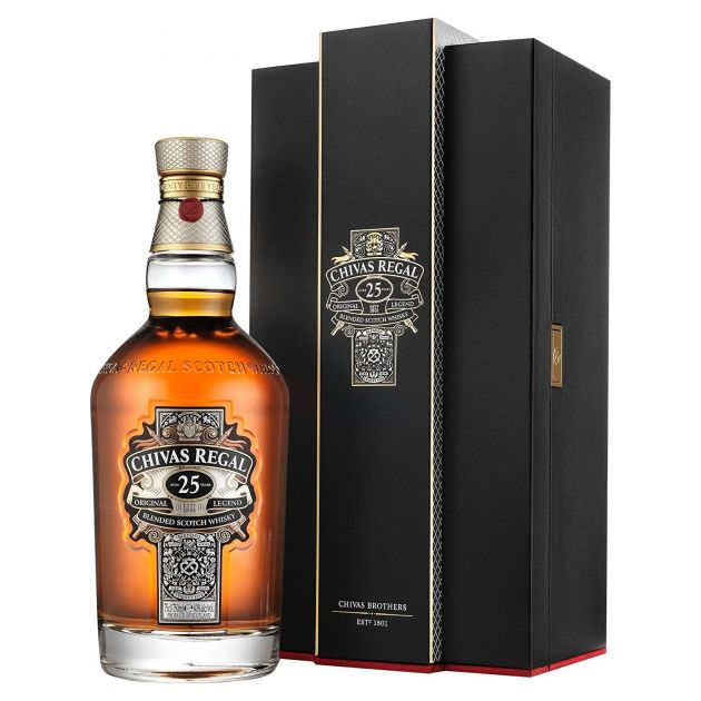 WHISKY CHIVAS REGAL 25 ANOS 750ML