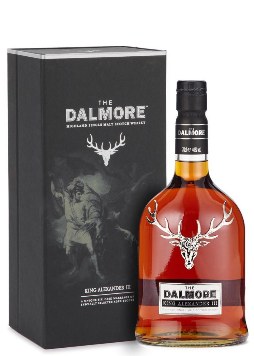WHISKY DALMORE KING ALEXANDER III SINGLE MALT  700 ML