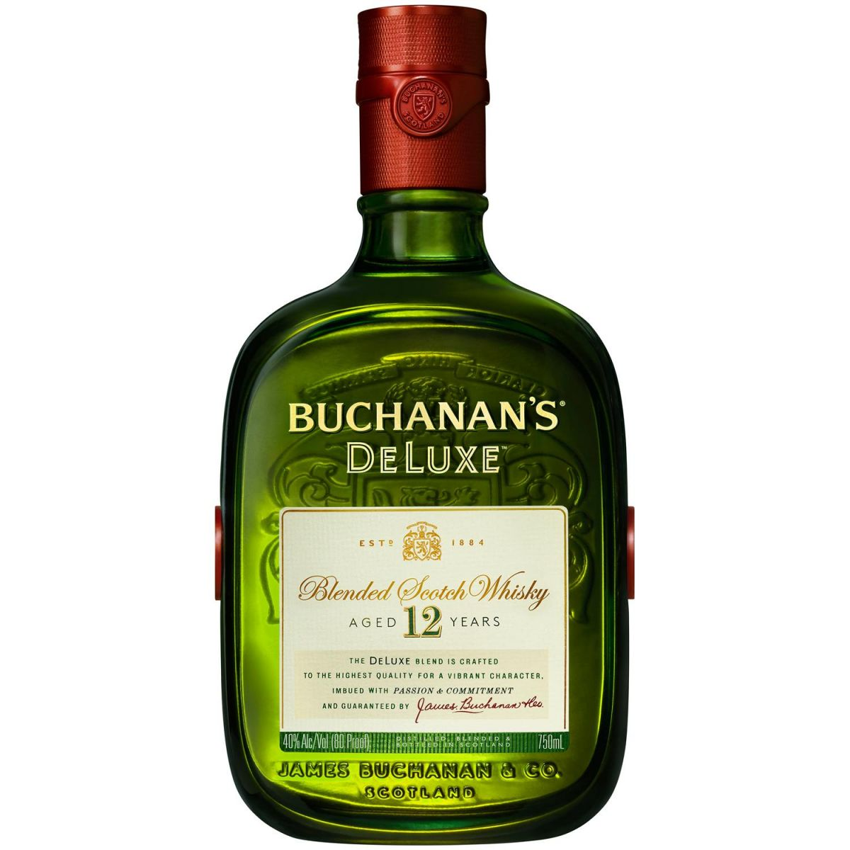 WHISKY BUCHANANS 12 ANOS 1L