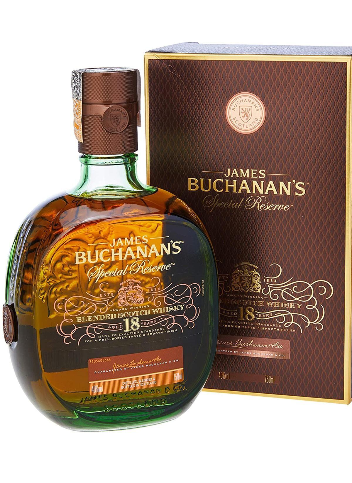 WHISKY BUCHANANS 18 ANOS 750 ML