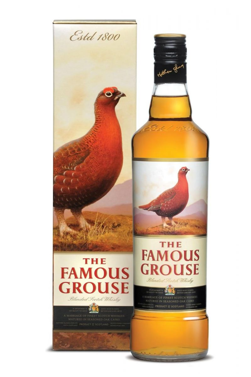 WHISKY FAMOUS GROUSE 8 ANOS 750 ML