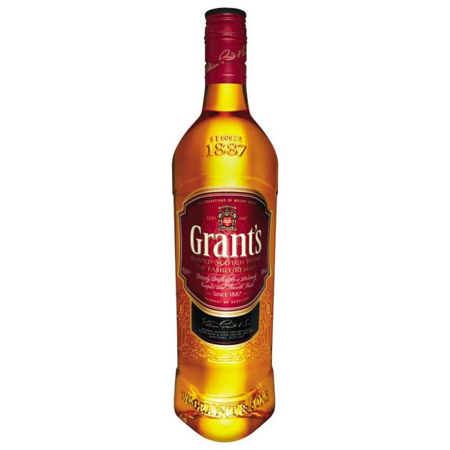 WHISKY GRANTS 8 ANOS 750 ML