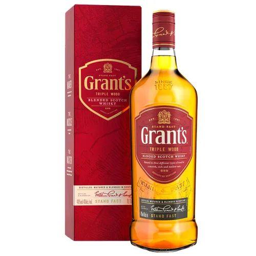 WHISKY GRANTS TRIPLE WOOD 8 ANOS 1 LITRO