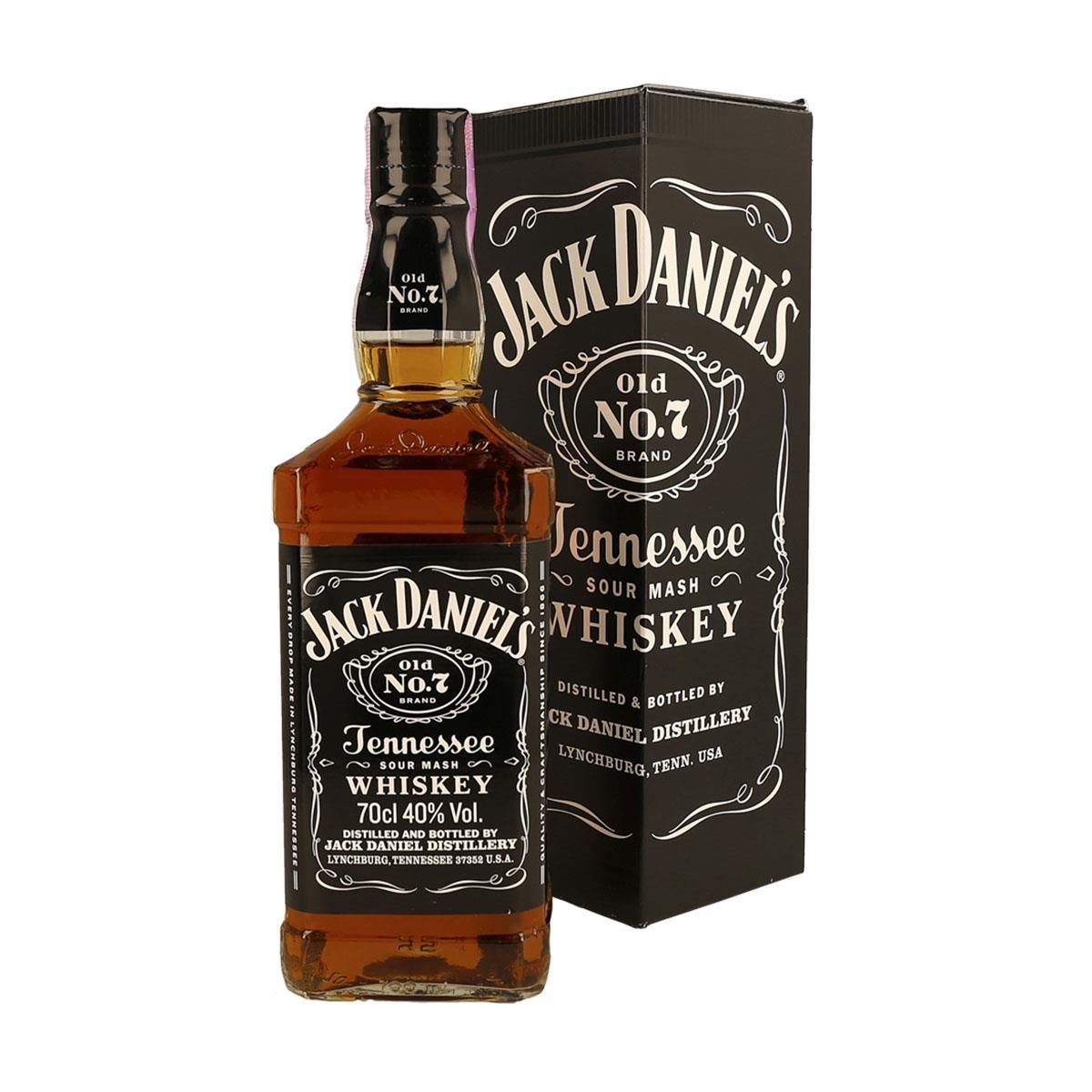 WHISKY JACK DANIEL'S OLD Nº 7 TENNESSEE 1 LT