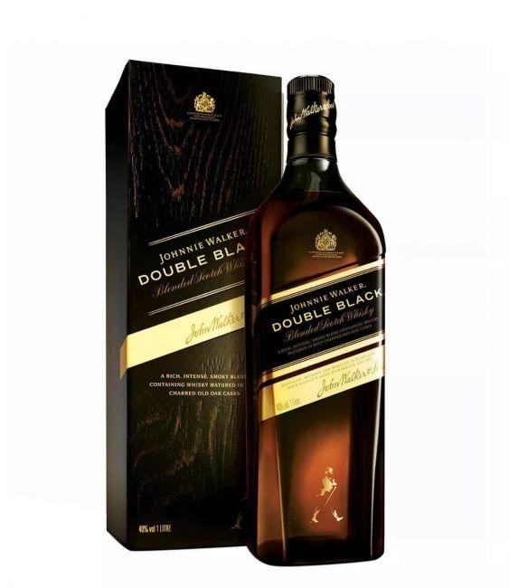 WHISKY JOHNNIE WALKER DOUBLE BLACK 1L