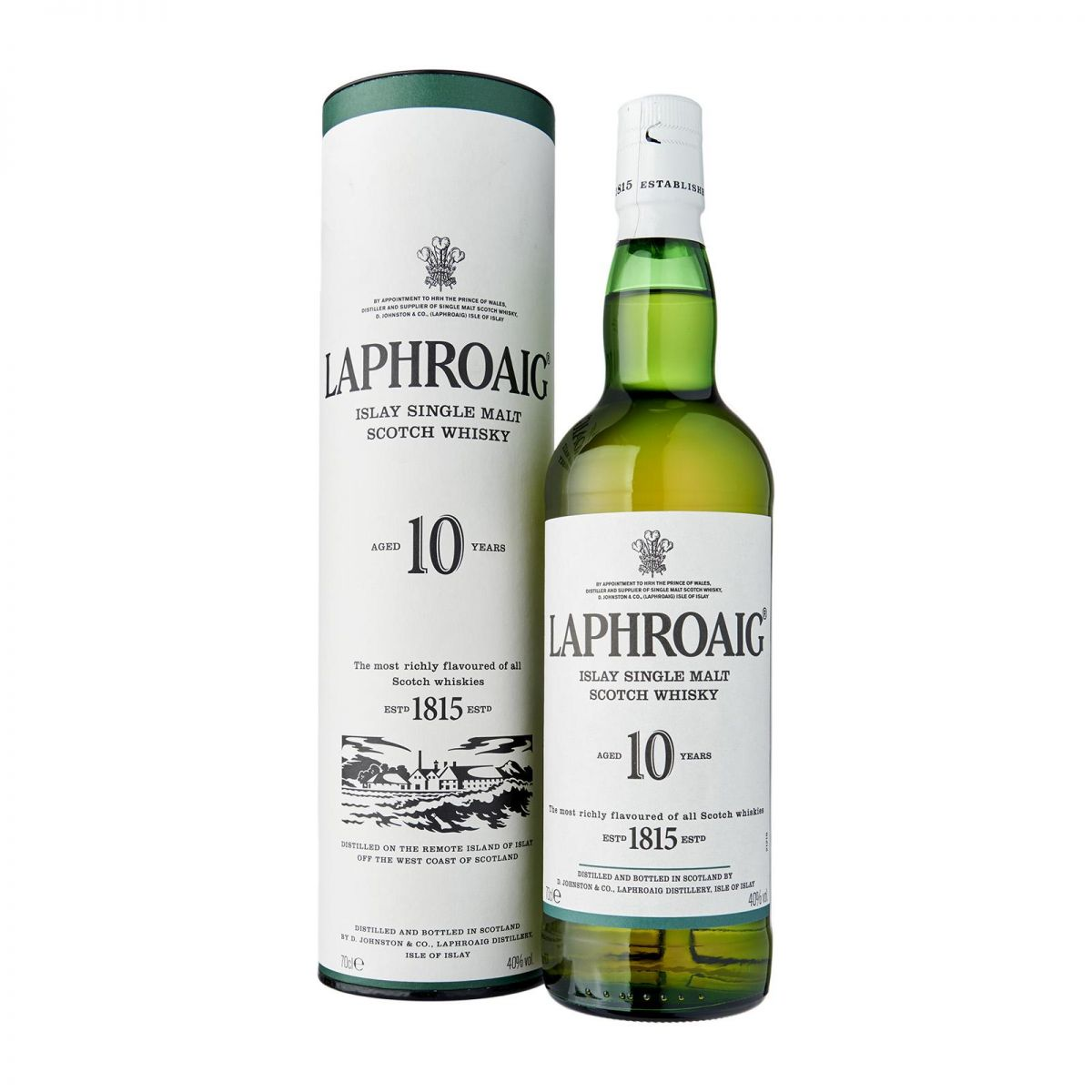 WHISKY LAPHROAIG SINGLE MALT 10 ANOS 750 ML