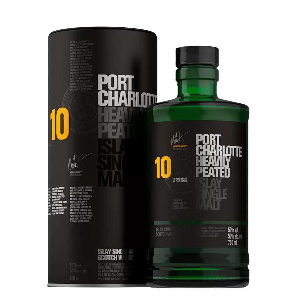 WHISKY SINGLE MALT BRUICHLADDICH CHARLOTTE 700 ML