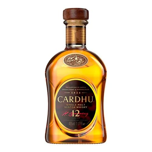 WHISKY SINGLE MALT CARDHU 12ANOS 1L