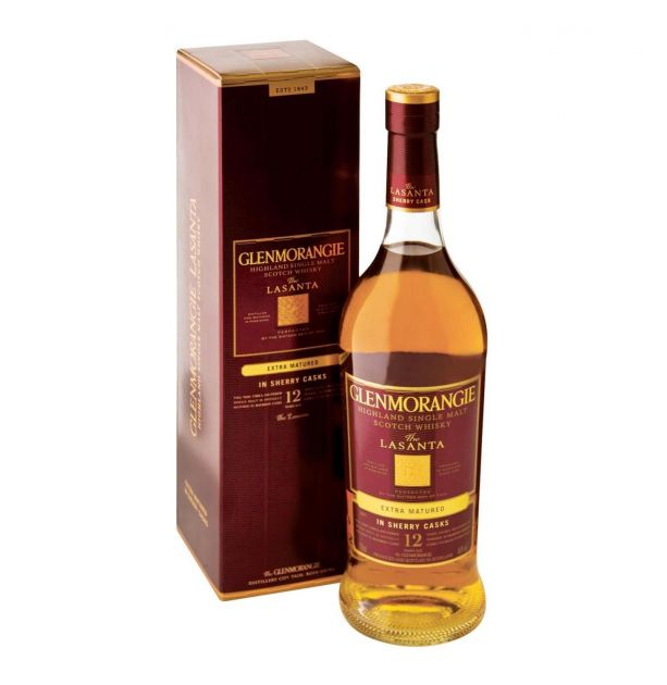 WHISKY SINGLE MALT GLENMORANGIE THE LASANTA 750 ML