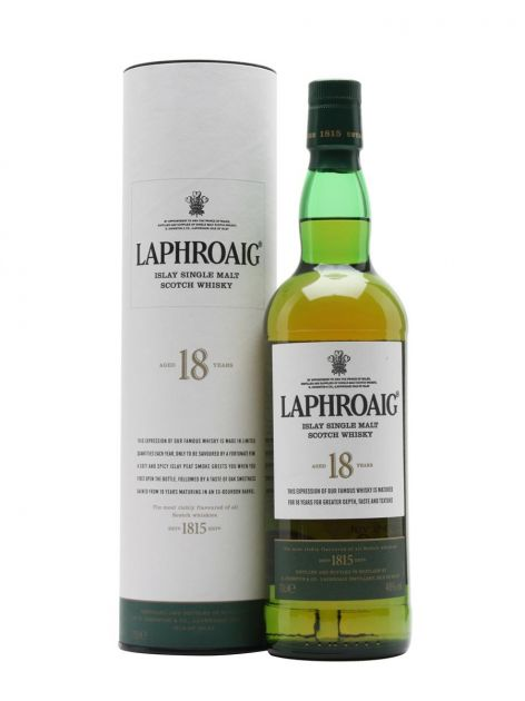 WHISKY SINGLE MALT LAPHROAIG 18 ANOS 750 ML