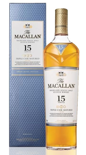 WHISKY SINGLE MALT MACALLAN 15 ANOS 700ML